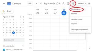 SPAM google calendar