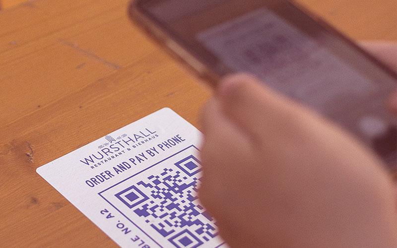 Cuando el malware se encuentra en la carta del restaurante (cartas por código QR)